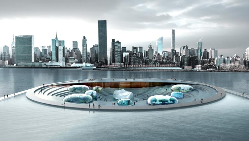 Nuevo concepto de acuario en Nueva York