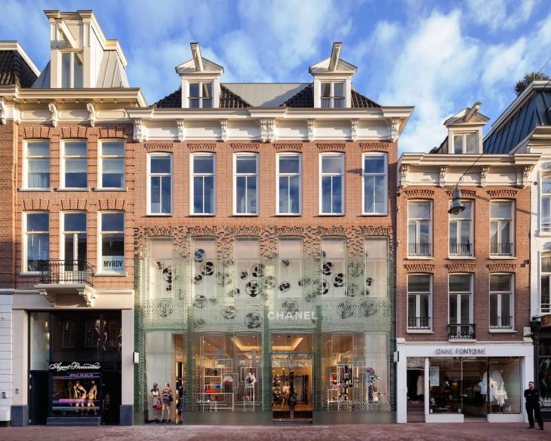 Una flagship store de cristal para Chanel