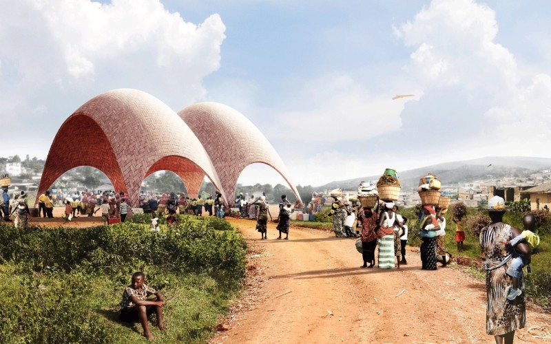 El droneport de Norman Foster en Ruanda