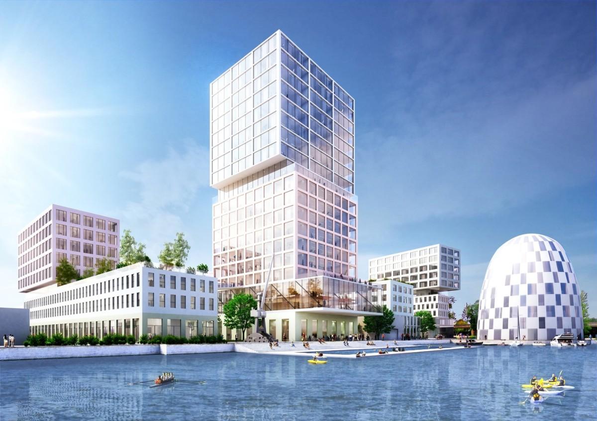 MVRDV: Plan maestro de Hamburgo