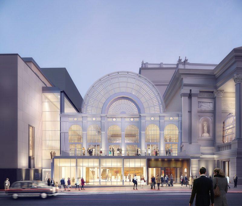 Renovación de la Royal Opera House de Londres