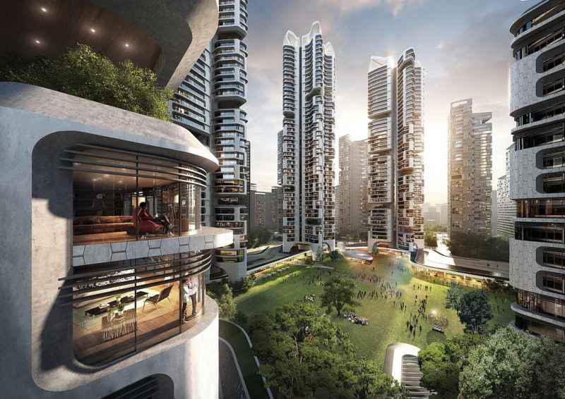 Diseño ecológico en el nuevo plan maestro de Seúl