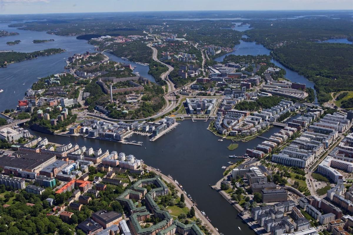 El primer barrio sostenible de Estocolmo