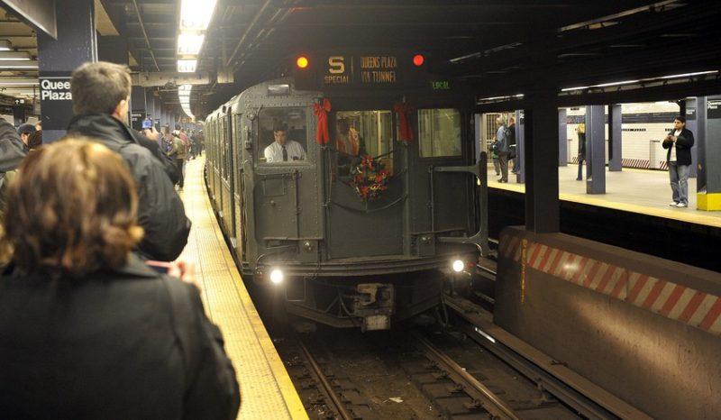 Línea secreta del metro de Nueva York te lleva al pasado