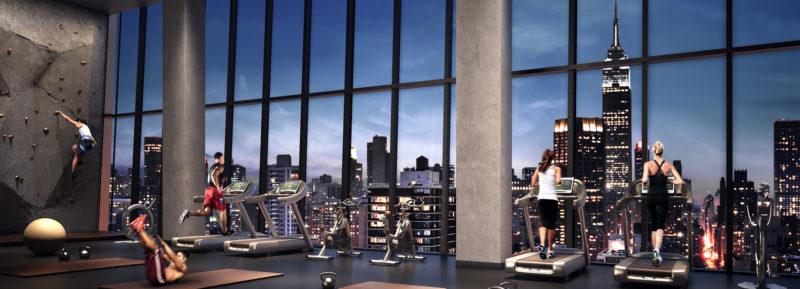 5 de los gimnasios más lujosos de Nueva York