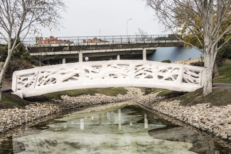 El primer puente impreso en 3D del mundo