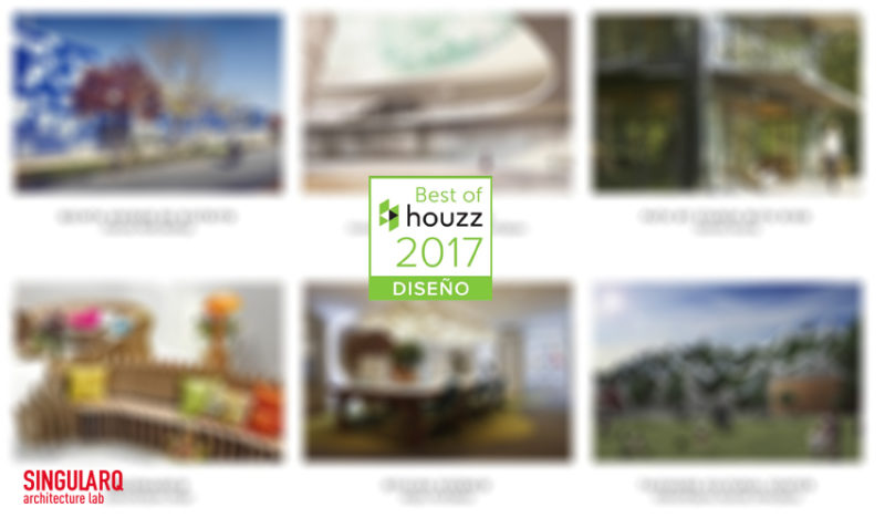 Premio Best of Houzz 2017 a Singularq Architecture Lab