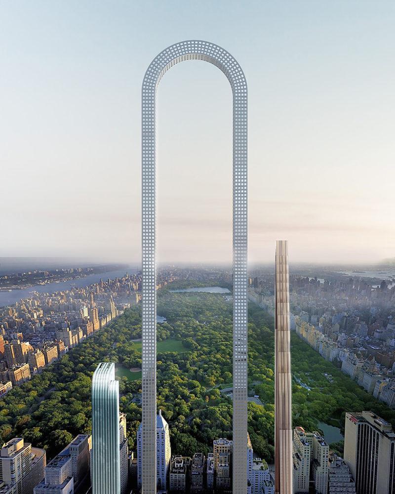 El rascacielos curvo más largo del mundo