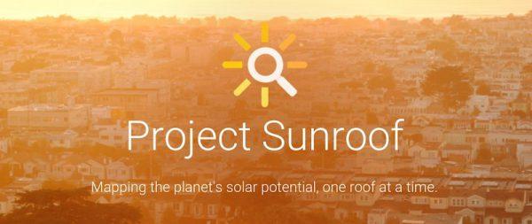 Sunroof: El proyecto de energía solar de Google